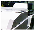 Design & Metal Fabrication of Steel Baggage Handling Vehicle Hood for the Airline Industry